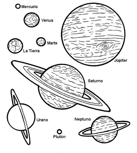 Actividades del sistema solar para niños de Preescolar - Imagui