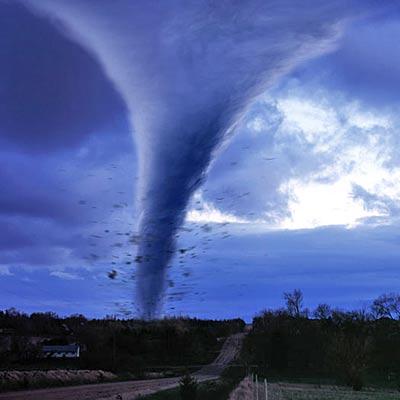 hacer un tornado