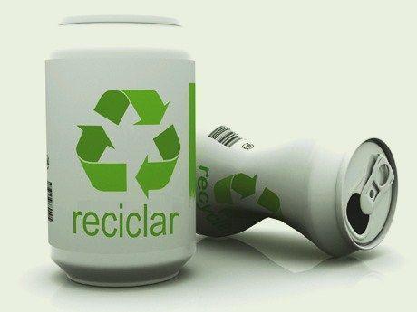 reciclar una lata