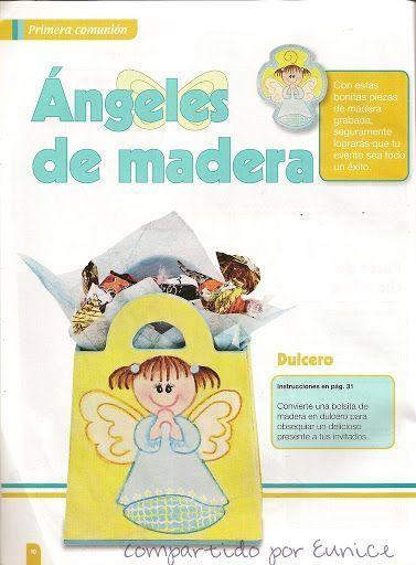 Cómo hacer ángeles de madera